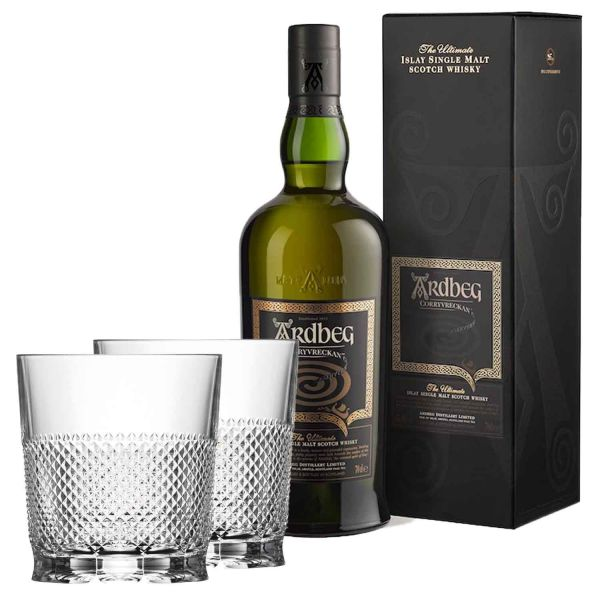 2er Set Whiskygläser Kristallglas Oxford Ardbeg Whisky